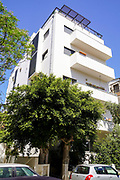 Bauhaus Architecture at 4 Yosef ha-Nasi St, Tel Aviv White City. The White City refers to a collection of over 4,000 buildings built in the Bauhaus or International Style in Tel Aviv from the 1930s by German Jewish architects who emigrated to the British Mandate of Palestine after the rise of the Nazis. Tel Aviv has the largest number of buildings in the Bauhaus/International Style of any city in the world. Preservation, documentation, and exhibitions have brought attention to Tel Aviv's collection of 1930s architecture.