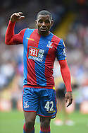 Jason Puncheon of Crystal Palace looking on . Barclays Premier league match, Crystal Palace v Arsenal at  Selhurst Park in London on Sunday 16th August 2015.<br /> pic by John Patrick Fletcher, Andrew Orchard sports photography.