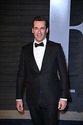 Jon Hamm attending the 2018 Vanity Fair Oscar Party hosted by Radhika Jones at Wallis Annenberg Center for the Performing Arts on March 4, 2018 in Beverly Hills, Los angeles, CA, USA. Photo by DN Photography/ABACAPRESS.COM