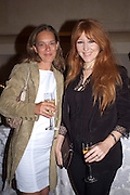 TINA CUTLER; CHARLOTTE TILBURY, Imogen Edwards-Jones - book launch party for ' Hospital Confidential' Mandarin Oriental Hyde Park, 66 Knightsbridge, London, 11 May 2011. <br />  <br /> -DO NOT ARCHIVE-© Copyright Photograph by Dafydd Jones. 248 Clapham Rd. London SW9 0PZ. Tel 0207 820 0771. www.dafjones.com.