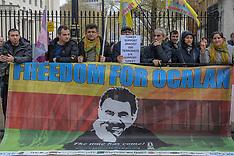 London Kurdish Protest, London, 13 April 2019