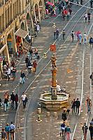 The Musketeer Fountain (Schutzenbrunnen) on Marktgasse, Bern, Canton Bern, Switzerland