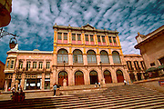 MEXICO, COLONIAL CITIES Zacatecas; the Theater Calderon