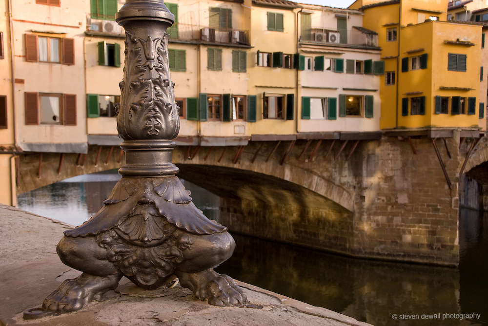 Ponte Vechio in Florence, Italy