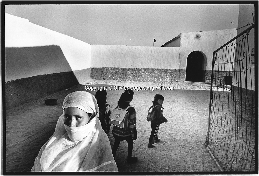 Algeria. Tinduf.  Morocco virtually annexed the northern two-thirds of Western Sahara (formerly Spanish Sahara) in 1976, and the rest of the territory in 1979, following Mauritania's withdrawal. A guerrilla war with the Polisario Front contesting Rabat's sovereignty ended in a 1991 UN-brokered cease-fire; a UN-organized referendum on final status has been repeatedly postponed.