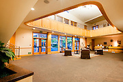 Reception area/foyer at hillcrest retirement community in LaVerne, CA
