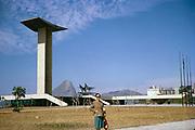 World War Two Monument memorial, Rio de Janeiro, Brazil, South America 1962