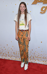 August 15, 2018 - Los Angeles, California, USA - 8/14/18.Courtney Hadwin at ''America''s Got Talent'' Red Carpet event in Los Angeles, CA. (Credit Image: © Starmax/Newscom via ZUMA Press)