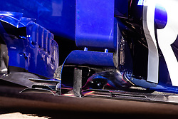 February 28, 2019 - Montmelo, BARCELONA, Spain - Toro Rosso aerodinamic sidepod during the Formula 1 2019 Pre-Season Tests at Circuit de Barcelona - Catalunya in Montmelo, Spain on February 28. (Credit Image: © AFP7 via ZUMA Wire)