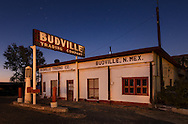 Budville Trading Company, gas station, Route 66, New Mexico
