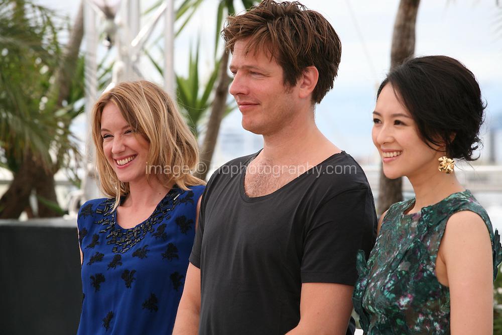 Ludivine Sagnier, Thomas Vinterberg, Zhang Ziyi, Jury Un Certain Regard at the Cannes Film Festival 16th May 2013