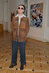 """CHARLES JEFFREY at a private view of work by Matthew Stone """"Healing The Wounds' held at Somerset House, The Strand, London on 4th July 2016."""