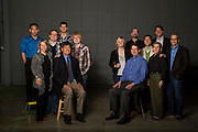 Group photo of entrepreneurs in Northwest Arkansas.<br /> Photo by Beth Hall