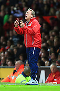 Neil Warnock manager of Crystal Palace - Manchester United vs. Crystal Palace - Barclay's Premier League - Old Trafford - Manchester - 08/11/2014 Pic Philip Oldham/Sportimage