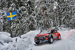 February 15, 2018 - Suede - Kris Meeke (GBR) – Paul Nagle (IRL) - Citroen C3 WRC (Credit Image: © Panoramic via ZUMA Press)