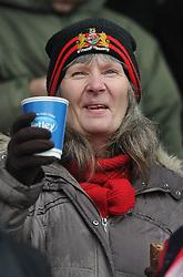 Bristol City fan - Photo mandatory by-line: Dougie Allward/JMP - Mobile: 07966 386802 - 03/04/2015 - SPORT - Football - Oldham - Boundary Park - Bristol City v Oldham Athletic - Sky Bet League One