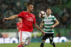 February 3, 2019 - Lisbon, Portugal - Benfica's Suisse forward Haris Seferovic in action during the Portuguese League football match Sporting CP vs SL Benfica at Alvalade stadium in Lisbon, Portugal on February 3, 2019. (Credit Image: © Pedro Fiuza/ZUMA Wire)