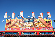 Mustards Midway Cafe Signage at the Orange County Fair