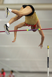 Danny Ecker of Germany in the Pole Vault men Qualification at the 2nd day of  European Athletics Indoor Championships Torino 2009 (6th - 8th March), at Oval Lingotto Stadium,  Torino, Italy, on March 6, 2009. (Photo by Vid Ponikvar / Sportida)