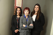 SHOT 12/4/19 11:16:08 AM - McGuane & Hogan, P.C., a Colorado family law firm located in Denver, Co. Includes attorneys Kathleen Ann Hogan, Halleh T. Omidi and Katie P. Ahles. (Photo by Marc Piscotty / © 2019)