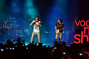 "Melendi  presents his last album ""Lagrimas desordenadas"" at the Riviera concert hall in Madrid"