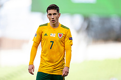 DUBLIN, REPUBLIC OF IRELAND - Sunday, October 11, 2020: Wales' Harry Wilson during the UEFA Nations League Group Stage League B Group 4 match between Republic of Ireland and Wales at the Aviva Stadium. The game ended in a 0-0 draw. (Pic by David Rawcliffe/Propaganda)