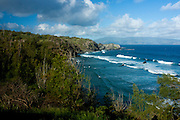Maui's rugged north coast