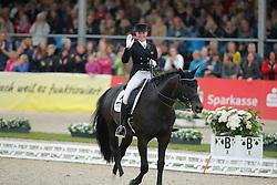 Von Bredow-Werndl Jessica, (GER), Unee BB<br /> Grand Prix Special<br /> CDIO Hagen 2015<br /> © Hippo Foto - Stefan Lafrentz