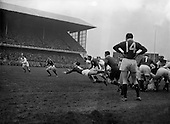 Rugby 09/02/1957 Five Nations Ireland Vs England