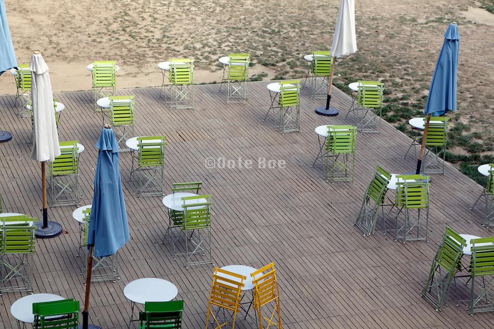 outdoor cafe terrace