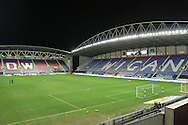 during the Sky Bet League 1 match between Wigan Athletic and Gillingham at the DW Stadium, Wigan, England on 7 January 2016. Photo by Mark P Doherty.