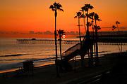 T-Street At Sunset
