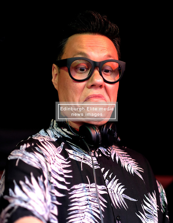 Party At The Palace, Sunday 12th August 2018<br /> <br /> Pictured: Gok Wan plays a DJ set<br /> <br /> Aimee Todd   Edinburgh Elite media