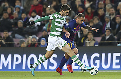 December 5, 2017 - Na - Barcelona, 05/12/2017 - FC Barcelona received the Sporting CP in the Camp Nou stadium tonight, in the game to count for the 6th round of Group D of the 2017/18 Champions League. Piccini and Alcacer  (Credit Image: © Atlantico Press via ZUMA Wire)