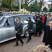 NLD/Amsterdam/20110108 - Uitvaart Boney M zanger Bobby Farrell, zonen