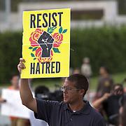 Richard Spencer UF Protest