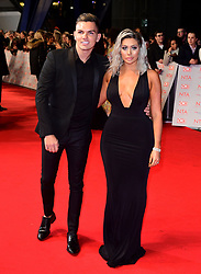 Sam Gowland and Chloe Ferry attending the National Television Awards 2018 held at the O2 Arena, London.