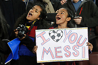 FC Barcelona's supporters during La Liga match.March 22,2015. (ALTERPHOTOS/Acero)