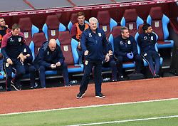23 April 2017 - EFL Championship Football - Aston Villa v Birmingham City - Aston Villa manager Steve Bruce watches the action - Photo: Paul Roberts / Offside
