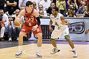 DESCRIZIONE : Milano Lega A 2013-14 EA7 Emporio Armani Milano vs Montepaschi Siena playoff Finale gara 5<br /> GIOCATORE : Alessandro Gentile<br /> CATEGORIA : Controcampo Palleggio<br /> SQUADRA : EA7 Emporio Armani Milano<br /> EVENTO : Finale gara 5 playoff<br /> GARA : EA7 Emporio Armani Milano vs Montepaschi Siena playoff Finale gara 5<br /> DATA : 23/06/2014<br /> SPORT : Pallacanestro <br /> AUTORE : Agenzia Ciamillo-Castoria/GiulioCiamillo<br /> Galleria : Lega Basket A 2013-2014  <br /> Fotonotizia : Milano Lega A 2013-14 EA7 Emporio Armani Milano vs Montepaschi Siena playoff Finale gara 5<br /> Predefinita :