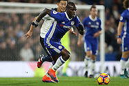 Victor Moses of Chelsea in action. Premier league match, Chelsea v Tottenham Hotspur at Stamford Bridge in London on Saturday 26th November 2016.<br /> pic by John Patrick Fletcher, Andrew Orchard sports photography.
