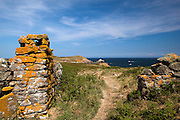 """The """"Heavenly Gate"""" on Great Saltee, the larger of the Saltee Islands, off the coast of Co. Wexford, Ireland."""