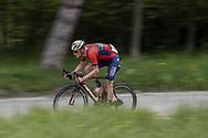 Matej Mohoric (SLO - Bahrain - Merida) during the 101th Tour of Italy, Giro d'Italia 2018, stage 10, Penne - Gualdo Tadino 239 km on May 15, 2018 in Italy - Photo Roberto Bettini / BettiniPhoto / ProSportsImages / DPPI