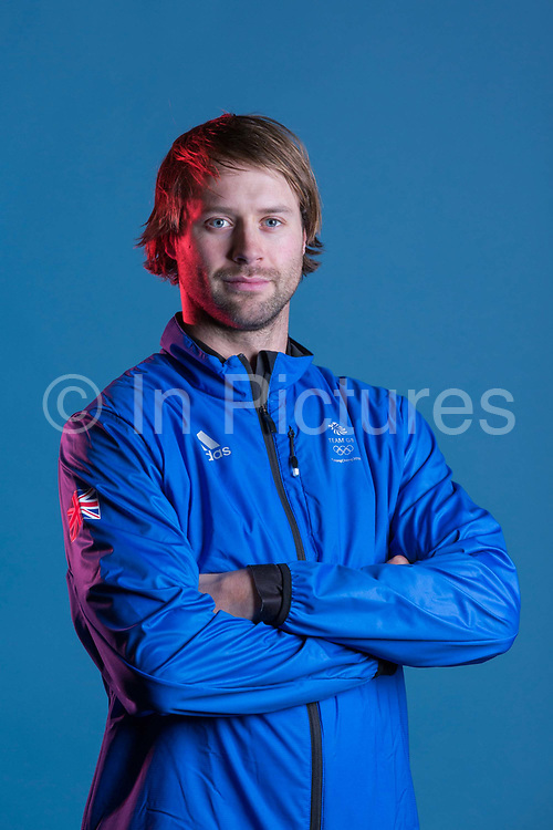 Billy Morgan during GB Park & Pipe Winter Olympic official Adidas kitting out day on 24th January 2018 in Stockport, United Kingdom.