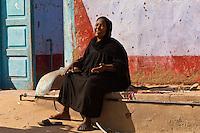 Nubian village near Aswan, Egypt