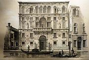 Illustration of the Palazzo Contarini 1936