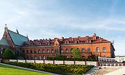 Kraków, 12.05.2016 (woj. małopolskie). Klasztor Zgromadzenia Sióstr Matki Bożej Miłosierdzia w Krakowie-Łagiewnikach.