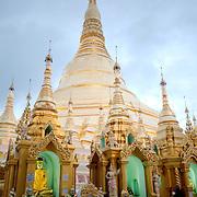Main stupa of the Shwedagon Pagoda