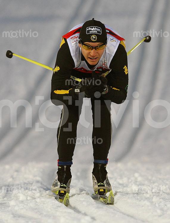 Sapporo , 220207 , Nordische Ski Weltmeisterschaft  Sprintrennen der Maenner ,  Ben SIM (AUS)