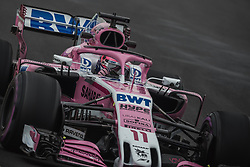 March 1, 2018 - Barcelona, Catalonia, Spain - SERGIO PEREZ (MEX) drives in his Force India VJM11 during day four of Formula One testing at Circuit de Catalunya (Credit Image: © Matthias Oesterle via ZUMA Wire)